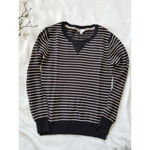 Volcom Striped Ribbed Crewneck Pullover
